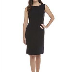 Karen Scott Black Sleeveless Sheath Dress Size 18W